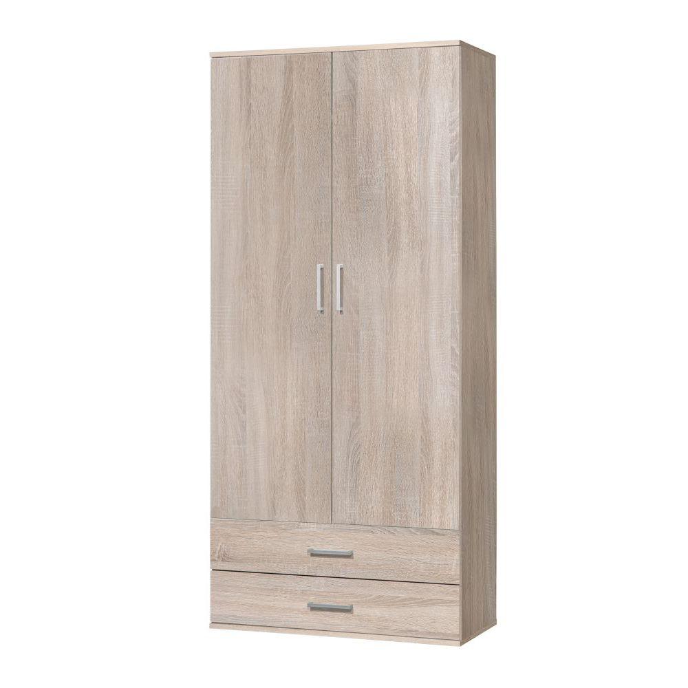 mehrzweckschrank schrank ronny mit staubsaugerfach eiche. Black Bedroom Furniture Sets. Home Design Ideas