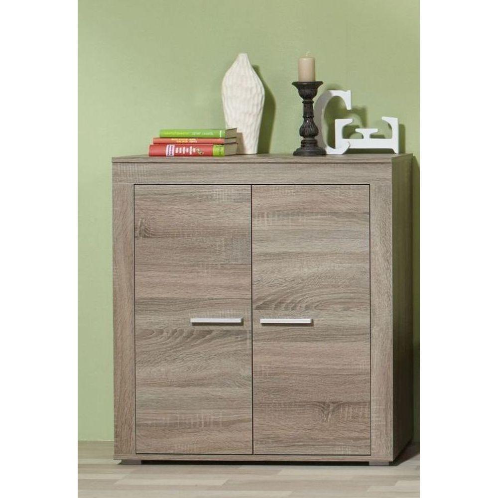 schrank 2 t ren aosta eiche tr ffel neu ovp. Black Bedroom Furniture Sets. Home Design Ideas