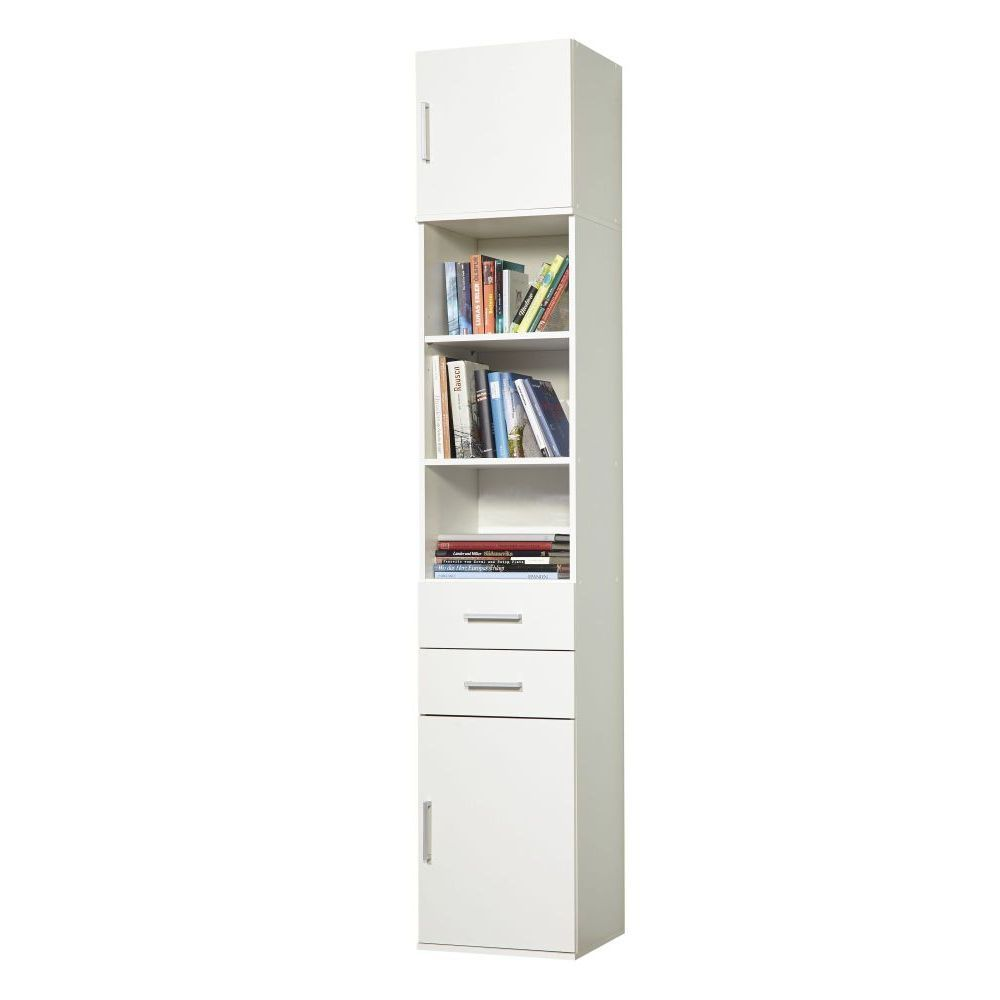 schrankaufsatz h ngeschrank f r anbauserie ronny 1trg 40. Black Bedroom Furniture Sets. Home Design Ideas